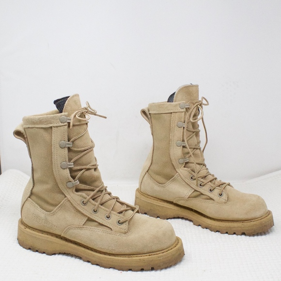 Rocky Other - Rocky Desert Combat Work Boots Size 5 Wide